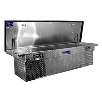 "Better Built® - SEC Series 69"" Low Profile Deep Crossover Single Lid Tool Box"