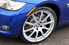 BEYERN® - BAVARIA Silver on BMW M3