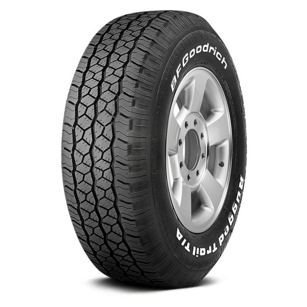 bfgoodrich rugged trail t a with white lettering tires. Black Bedroom Furniture Sets. Home Design Ideas