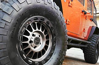 BFGOODRICH® - Mud Terrain TA KM2 On Jeep