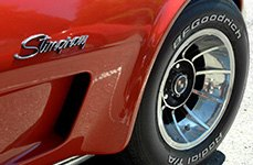 BFGOODRICH® - Radial T/A Tires on Chevy Corvette