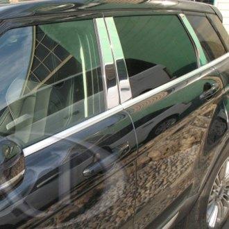 Black Pillar Posts for Land Rover Range Rover Evoque 11-15 6pc Door Trim 4dr