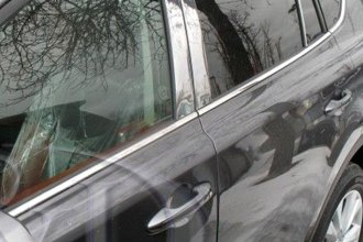 B&I® PP11098-C - Chrome Pillar Posts (6 Pcs)
