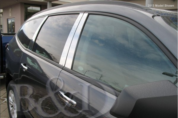 B&I® - Chromed SS Pillar Posts