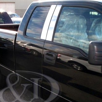 B&I® - Chrome Pillar Posts (4 Pcs)