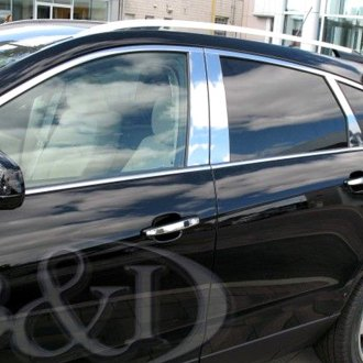 B&I® - Chrome Pillar Posts (6 Pcs)