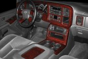 B&I® - Chevy Silverado 2004 3D Molded Dash Kit