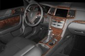 B&I� - Lincoln MKS Dash Kit in Brown Swirl Walnut