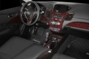 B&I® - Acura RDX 2013 Dash Kit in Dark Burlwood
