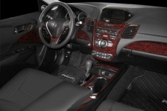 B&I� - Acura RDX 2013 Dash Kit in Dark Burlwood