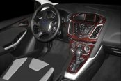 B&I� - Ford Focus Dash Kit in Dark Burlwood
