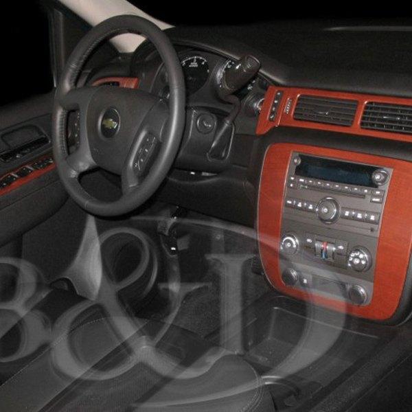 2011 Chevrolet Suburban 1500 Interior: GMC Sierra 2011 3D Molded Small Dash Kit