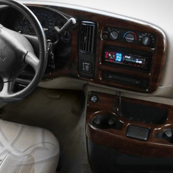 B I Cv Walnut Factory Match Large Dash Kit 5