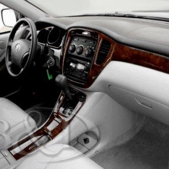 2003 toyota highlander color dash kits interior trim. Black Bedroom Furniture Sets. Home Design Ideas