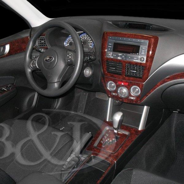Bi Subaru Forester 2012 Combo Small Dash Kit