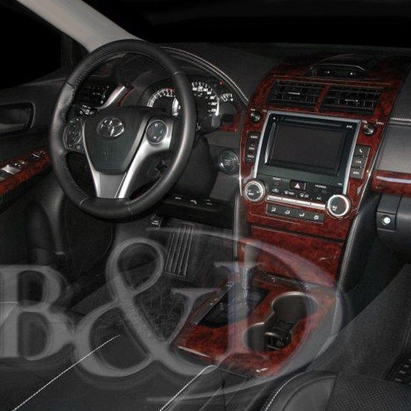 Bi Toyota Camry With 61 Display 2012 Combo Extra Large Dash Kit