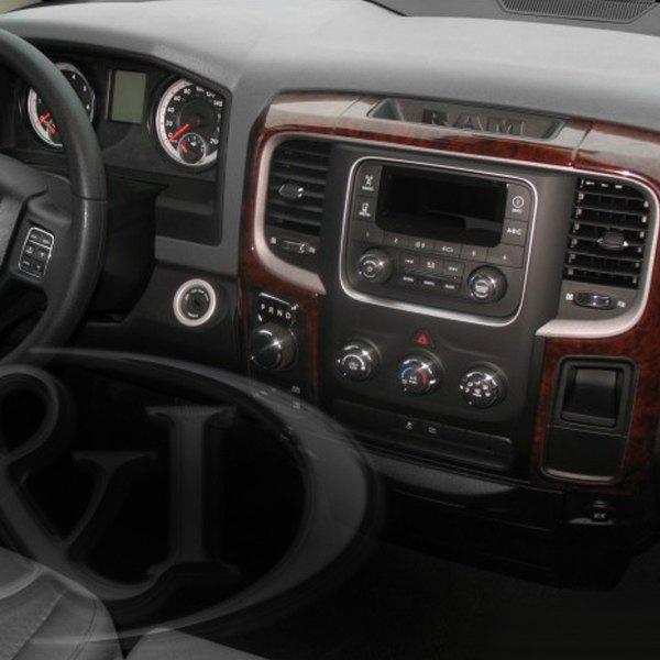 B&I® - Dodge Ram 1500 / 2500 / 3500 / 4500 / 5500 2014 3D Molded Small Dash Kit