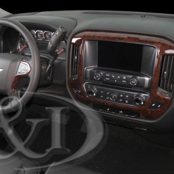 1997 Gmc 1500 Regular Cab Interior: Chevy Silverado 2015-2017 Combo Basic Dash Kit