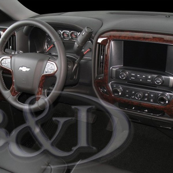 2015 2019 Gmc Canyon Extended Cab Gm Front Rear All: Chevy Silverado 2015-2017 Combo Medium Dash Kit
