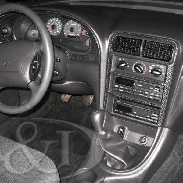 B I 2d Platinum Silver Full Dash Kit 11