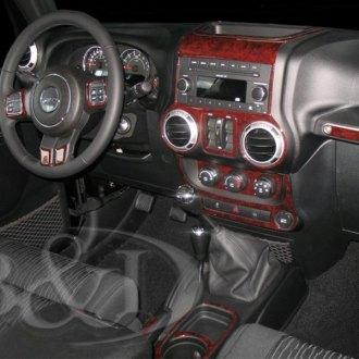 2017 Jeep Wrangler Custom Dash Kits