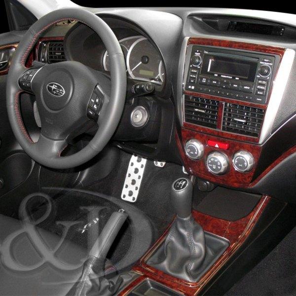 B I 2d Platinum Silver Large Dash Kit 20