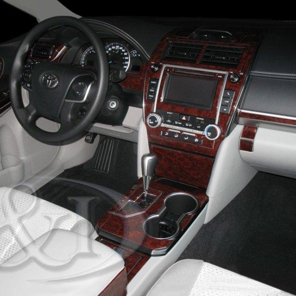 Bi Toyota Camry With 61 Display 2013 2d Medium Dash Kit