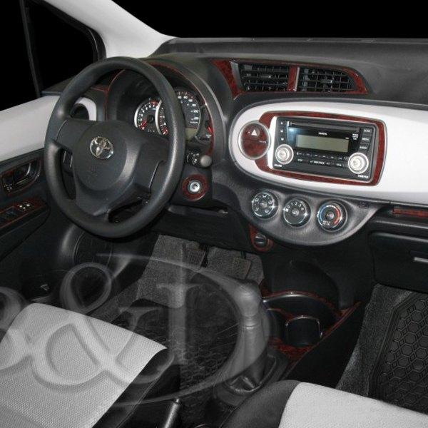 2008 toyota yaris radio dash kit