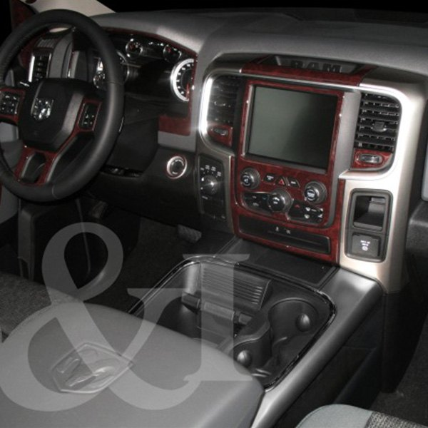 B I 2d Platinum Silver Small Dash Kit 34