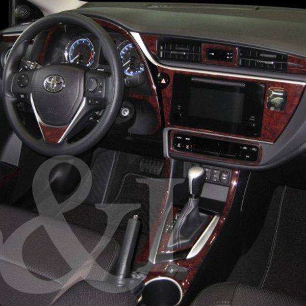 B i toyota corolla 2018 2d large dash kit for Toyota corolla interior accessories