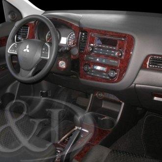 2019 Mitsubishi Outlander Carbon Fiber Dash Kits | Interior