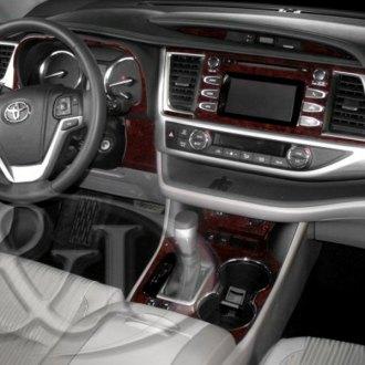 2017 toyota highlander carbon fiber dash kits interior trim. Black Bedroom Furniture Sets. Home Design Ideas