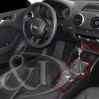 2016 Audi A3 Carbon Fiber Dash Kits Interior Trim