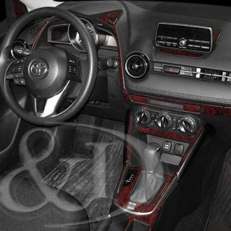 2017 Toyota Yaris Dash Covers Velour Suede Polycarpet Abs
