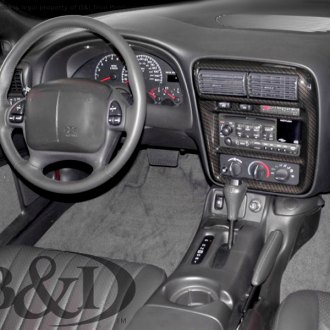 2000 Chevy Camaro Carbon Fiber Dash Kits Interior Trim