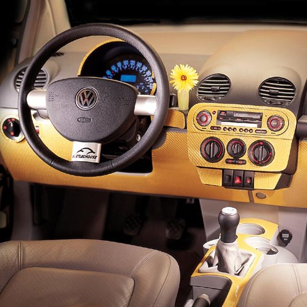 B I Volkswagen Beetle Late Models With Armrest 2002 2d Small Dash Kit
