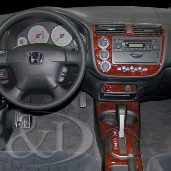 Honda Civic 2001 2D Large Dash Kit