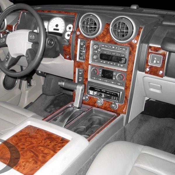 B I Hummer H2 2003 2007 2d Large Dash Kit