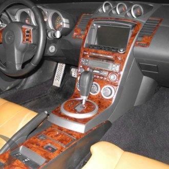 2005 Nissan 350z Carbon Fiber Dash Kits Interior Trim