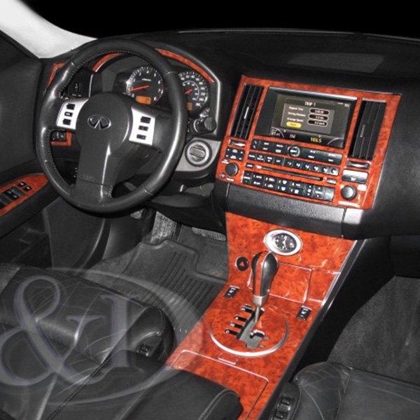 2005 Infiniti Qx Interior: Infiniti FX35 2005 2D Large Dash Kit
