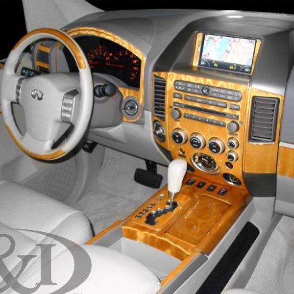 2005 Infiniti Qx Interior