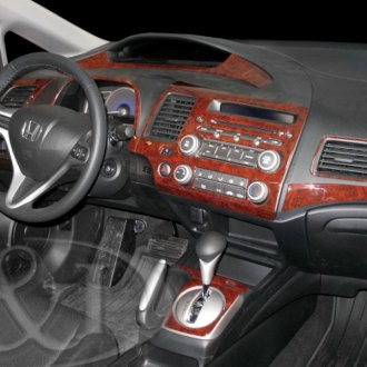 2007 acura csx carbon fiber dash kits interior trim. Black Bedroom Furniture Sets. Home Design Ideas