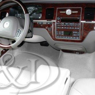 lincoln town car dash kits wood carbon fiber aluminum. Black Bedroom Furniture Sets. Home Design Ideas