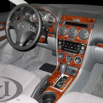 2006 mazda 6 carbon fiber dash kits interior trim. Black Bedroom Furniture Sets. Home Design Ideas