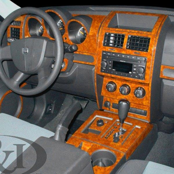 2008 Nissan Xterra Instrument Panel Lights: Dodge Nitro 2007 2D Small Dash Kit