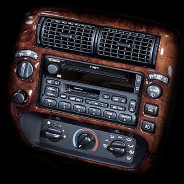 B I Combo Platinum Silver Full Dash Kit 4 Pcs