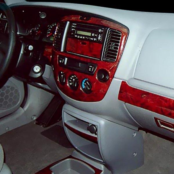 2001 Mazda Tribute Exterior: Mazda Tribute 2001 Combo Large Dash Kit
