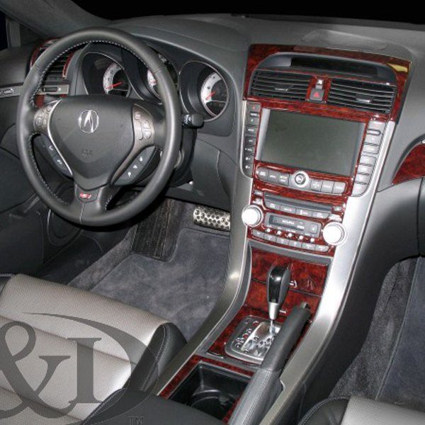 Acura TL 2008 2D Full Dash Kit