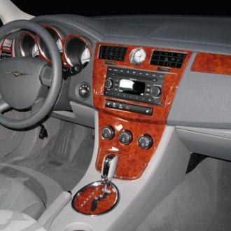 Chrysler Sebring  2001-2006 Brushed Suede Dash Board Cover Mat Grey