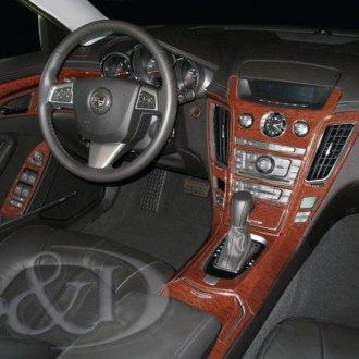 2009 cadillac cts carbon fiber dash kits interior trim. Black Bedroom Furniture Sets. Home Design Ideas